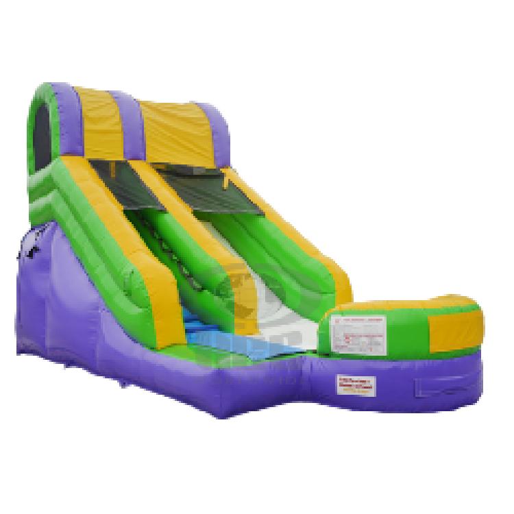 15' Splash Slide