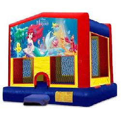 Little Mermaid Bounce House