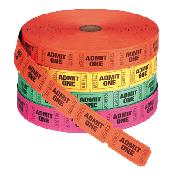 Tickets (2000 per roll)