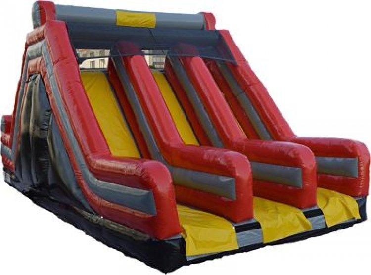 3 Lane Obstacle Slide