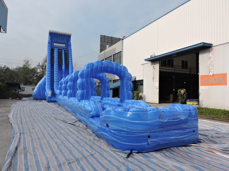 40ft Blue Mammoth Water Slide