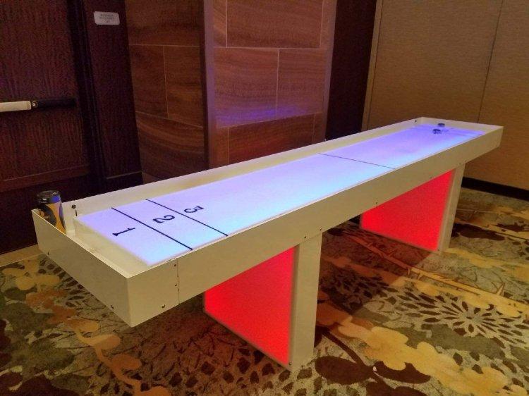 10ft Acrylic Glowing Shuffle Board