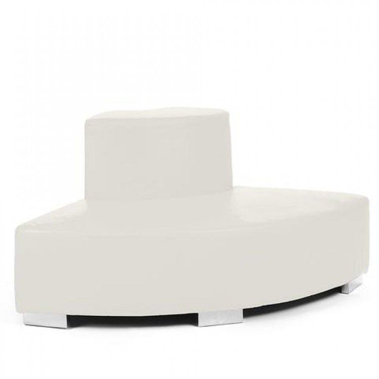 Mondrian - Outside Round - White