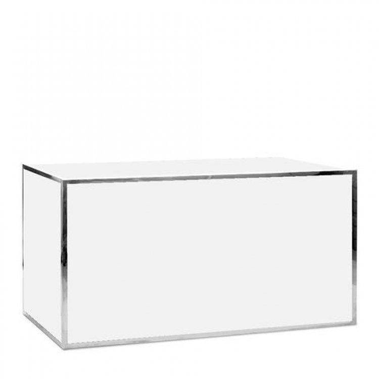 Bar - 6ft Straight - Avenue Silver Frame