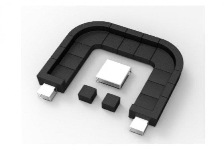 Lounge Package - Mondrian U 12 x 12 - Black