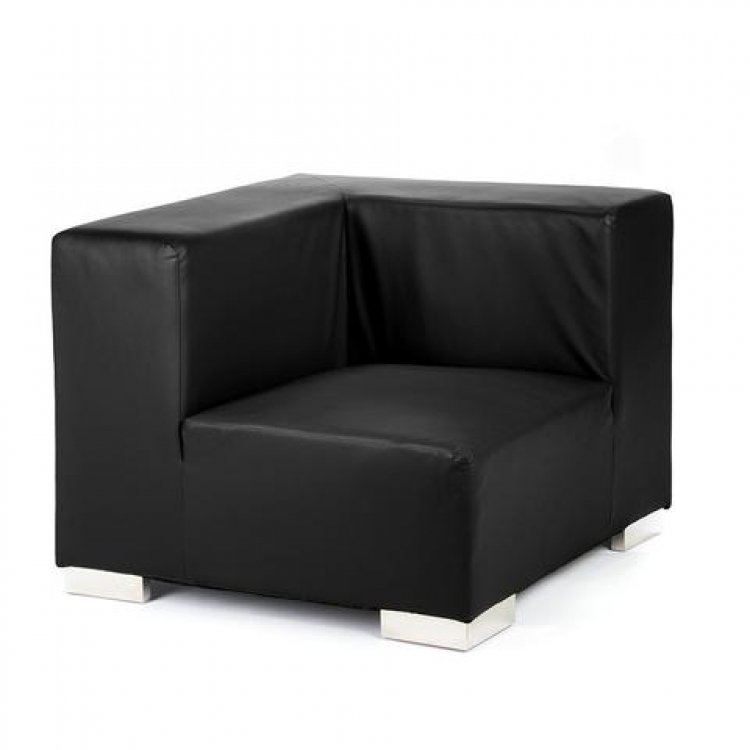 Mondrian - Corner - Black