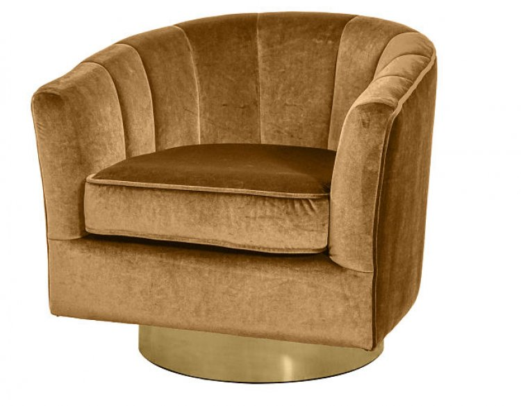 Club Chair - Cassidy - Champagne