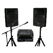 PA system Large Speakers