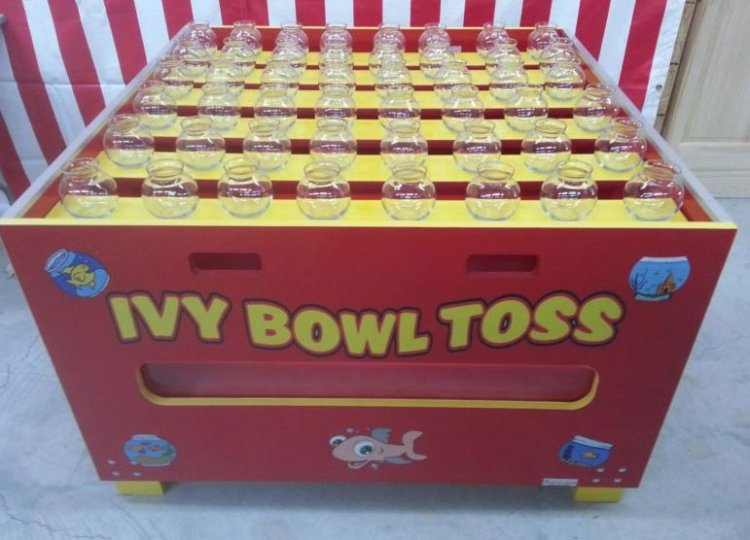 Fish Bowl Toss Midway Carnival Game