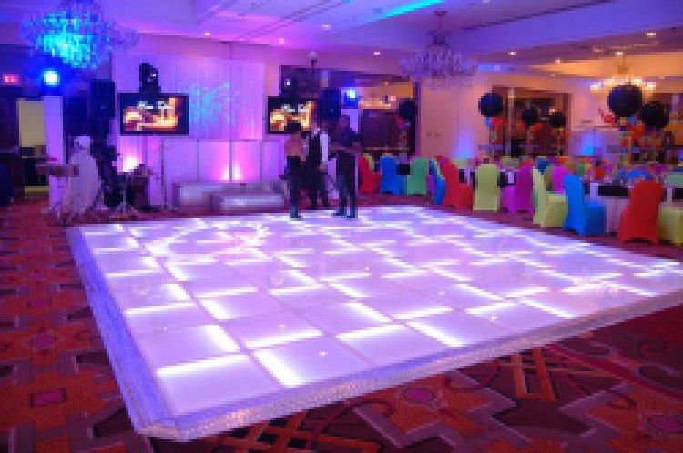 Glowing LED Dance Floor 16 x 16