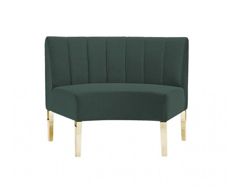 Kincaid Sofa - Inside Round - Emerald