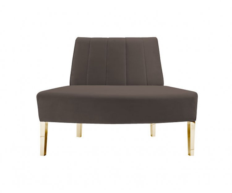 Kincaid Sofa - Outside Round - Graphite