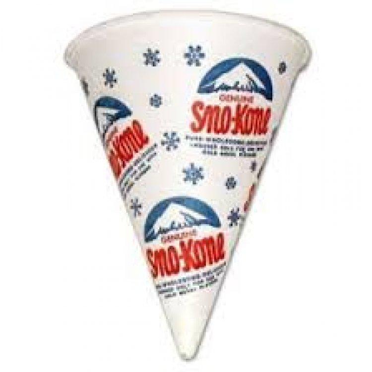 Sno Cone Cups
