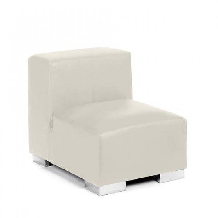 Mondrian - Middle Armless - White
