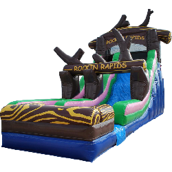 22ft Rocking Rapids Water Slide