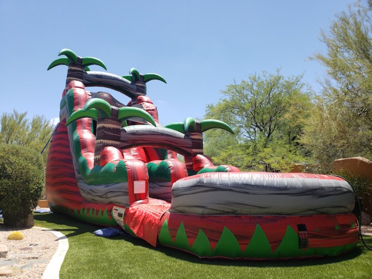 20ft Ruby Red Crush Water Slide