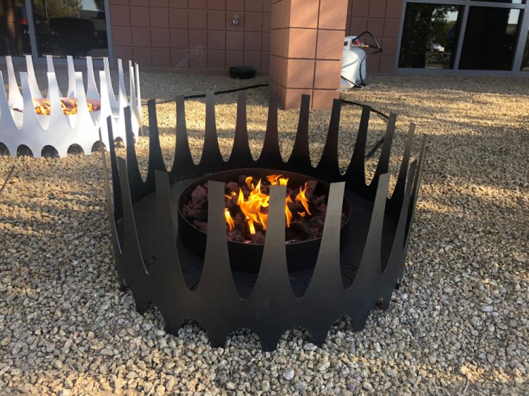 Royalfire Fire Pit - Charcoal Color