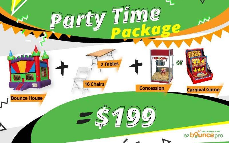 cheap party rentals az