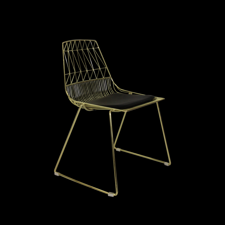 Hawaii Chair - Gold