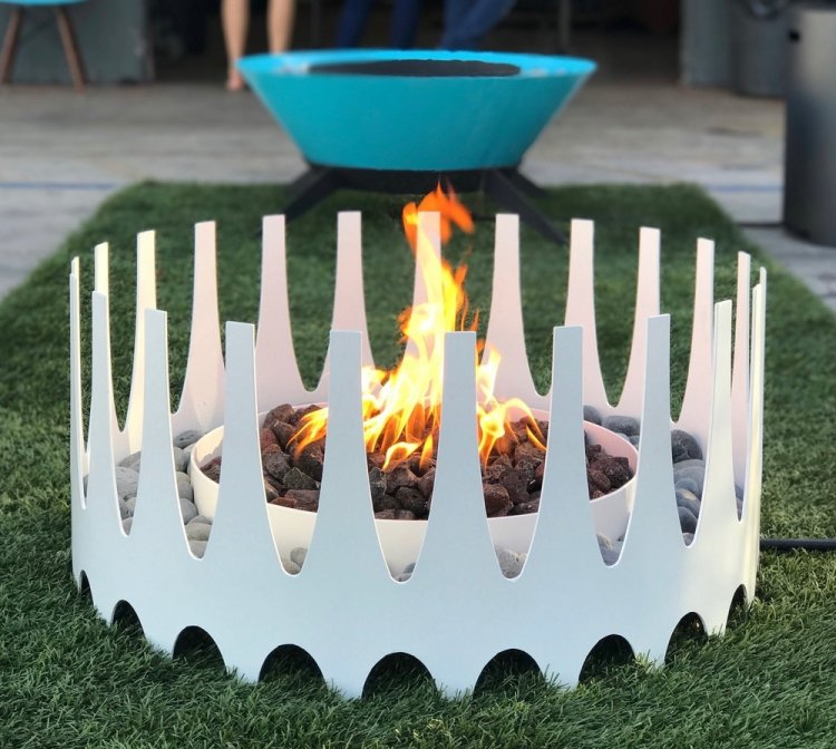 Royalfire Fire Pit - White