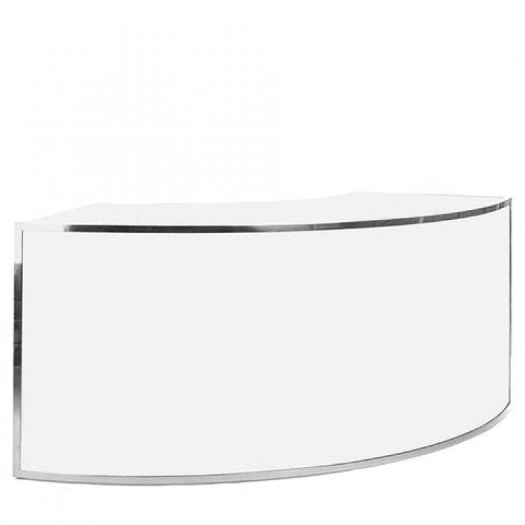 Bar - 1/4 Curve - Avenue Silver Frame