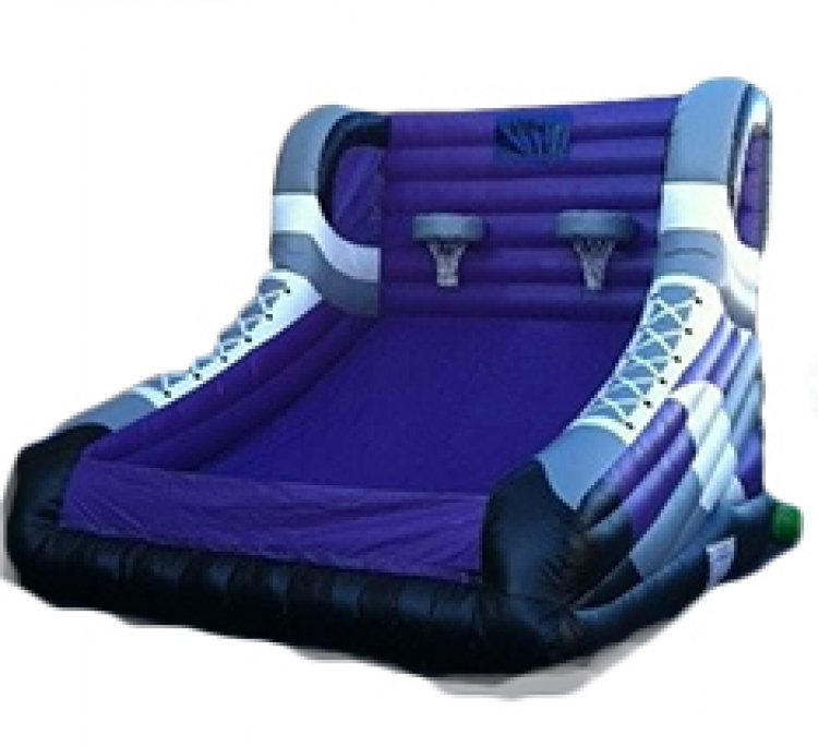 Inflatable Basketball Game (Purple)