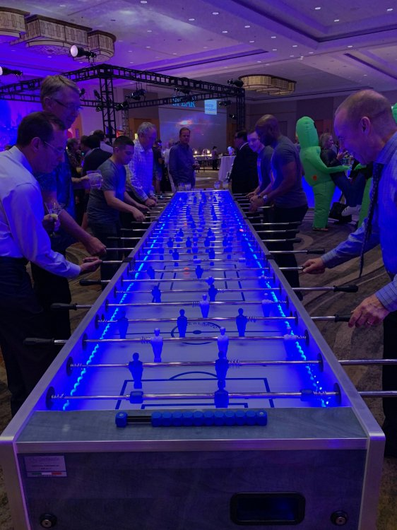 Giant Foosball Table - XXXL