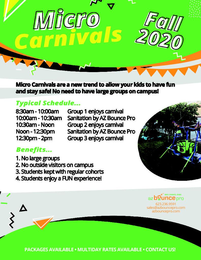 micro carnival ideas