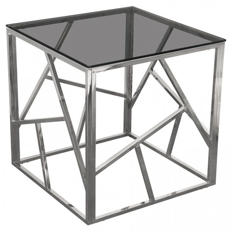 Side Table - Nest - Silver Frame