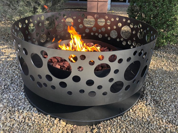 Solfire Fire Pit - Charcoal Color