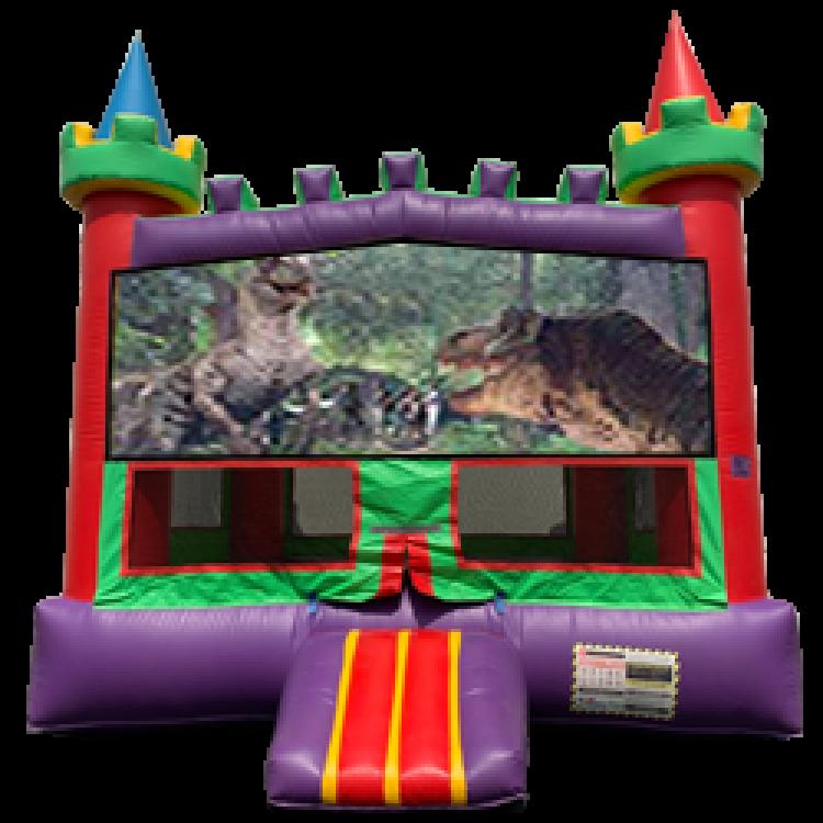 Jurassic Panel Bounce House