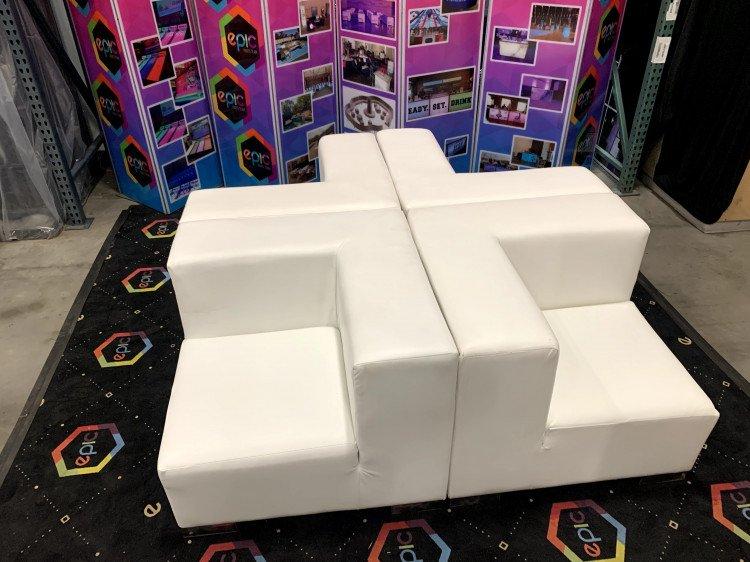 Mondrian - Quad Lounge - White