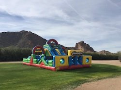 obstacle course rentals Scottsdale, AZ